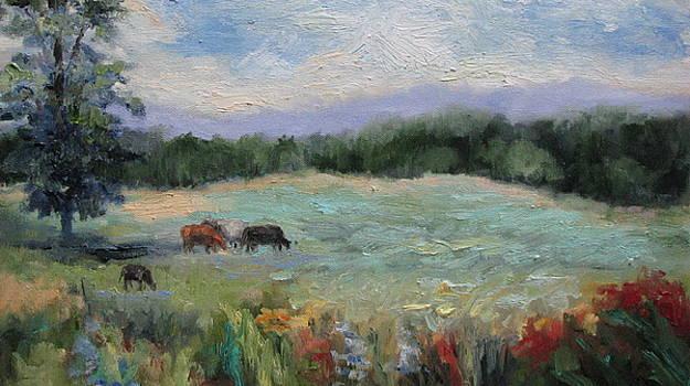 Arkansas Meadow by Sharon Franke