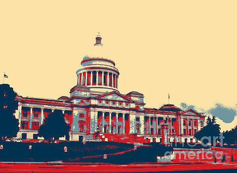Arkansas State Capitol  by Karen Francis