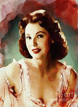 John Springfield - Arlene Dahl, Vintage Movie Star