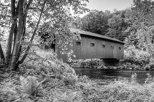 Arlington Green Covered Bridge by Guy Whiteley