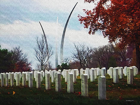 Arlington National Cemetery - Paint FX by Brian Wallace