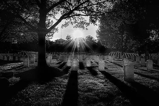 Arlington National Cemetery by Paul Seymour