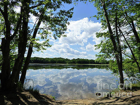 Arlington Reservoir by Leara Nicole Morris-Clark