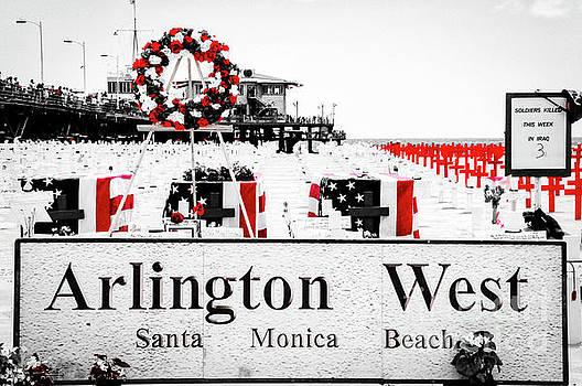 Julian Starks - Arlington West Santa Monica Beach