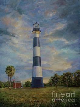AnnaJo Vahle - Armadillo and lighthouse