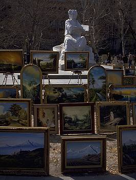 Armenian Art in The Park by Travel Pics
