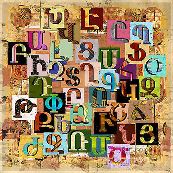 Bedros Awak - Armenian Textural Alphabet