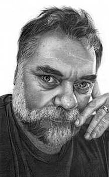 Armin Mersmann Drawing by Brian Duey