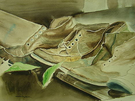 Army Boots by Charles Roy Smith