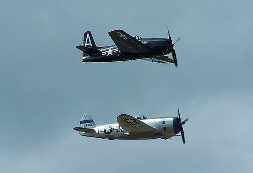 Army Navy Flight by Gene Ritchhart