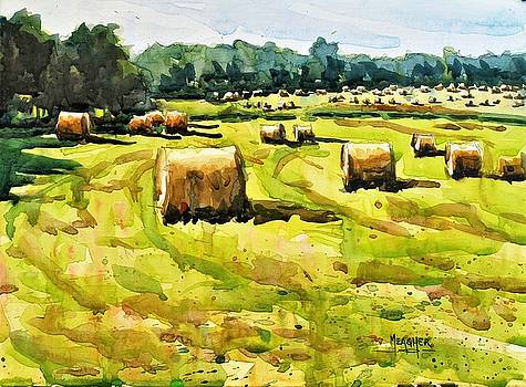 Army of Hay Bales by Spencer Meagher