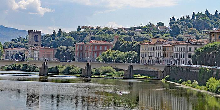 Allan Levin - Arno River and Bridge
