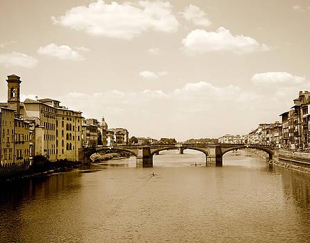 Marilyn Hunt - Arno River Florence