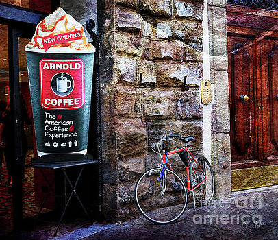 Arnold Coffee Bicycle by Craig J Satterlee