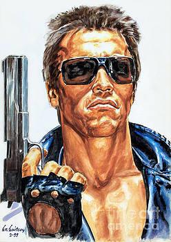 Arnold Schwarzenegger - Terminator by Spiros Soutsos