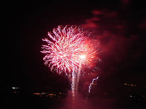 Around The Fourth Fireworks XIV by Daniel Henning