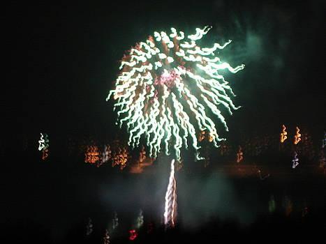 Around The Fourth Fireworks XV by Daniel Henning