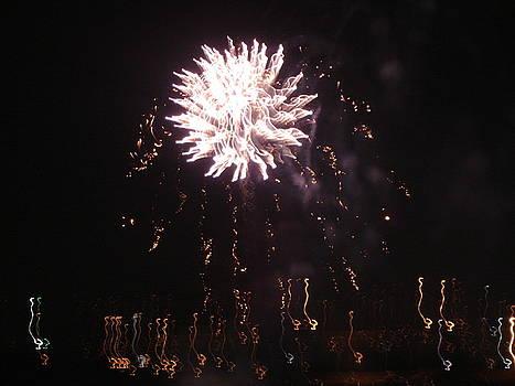 Around The Fourth Fireworks XVI by Daniel Henning
