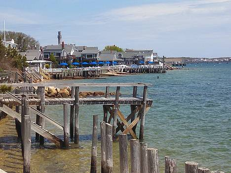 Around the Pier by Michael Tieman