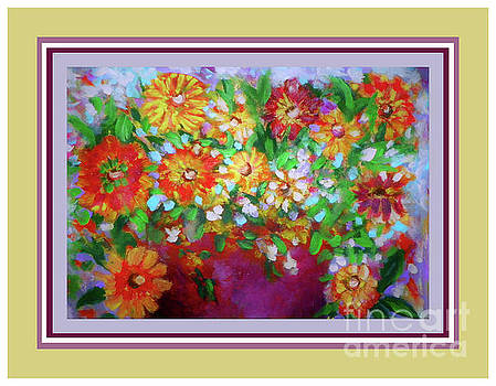 Arranged Flowers by Shirley Moravec