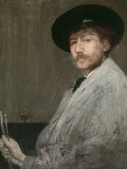 James Abbott McNeill Whistler - Arrangement in Grey  Portrait of the Painter