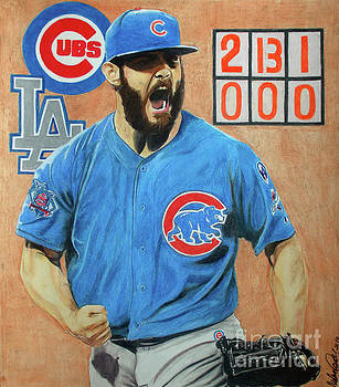 Arrieta No Hitter - Vol. 1 by Melissa Goodrich