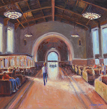 Arrival Union Station by Michael Besoli
