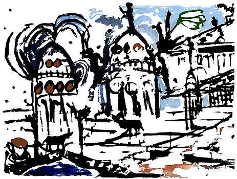 Arrivederci Kinski 1991 Gendarmenmarkt Berlin by Enzo Mastrangelo