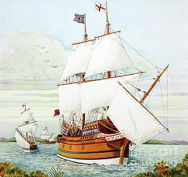 Arriving at Jamestown by Joyce Hensley