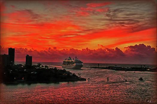 Arriving Port Everglades by Hanny Heim