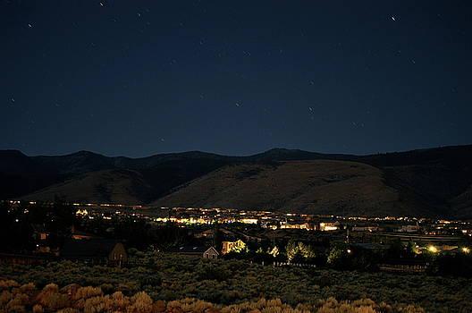 Arrow Creek At Night by Robbie Bryan