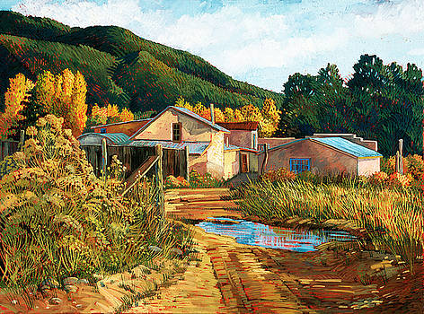 Arroyo Seco by Donna Clair