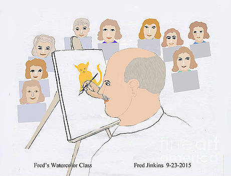 Art Class by Fred Jinkins