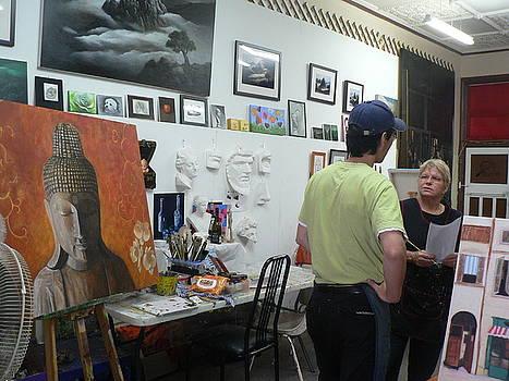 Art Class View by Croydon Art studio