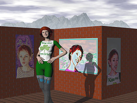 Art Day For Wendie by Eric Wahl