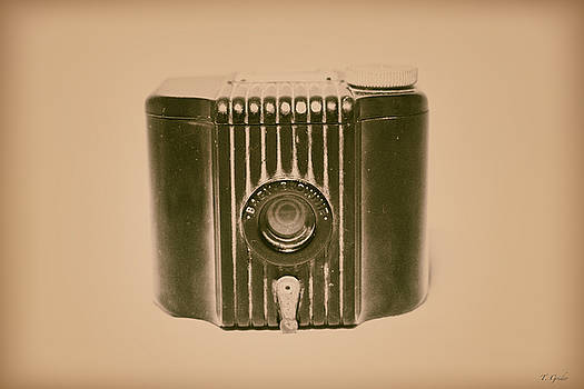 Art Deco Baby Brownie Tan Camera by Tony Grider