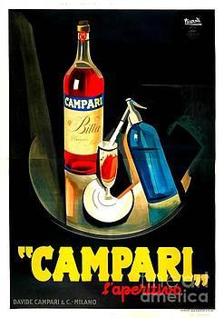 Peter Gumaer Ogden - Art Deco Italian Campari Poster 1920s