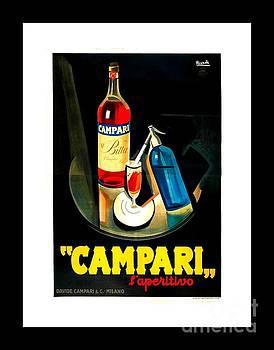 Peter Gumaer Ogden - Art Deco Italian Campari Poster II Nizzoli 1920s