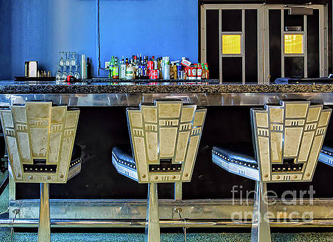 Kathleen K Parker - Art Deco Stools - Lakefront Airport New Orleans