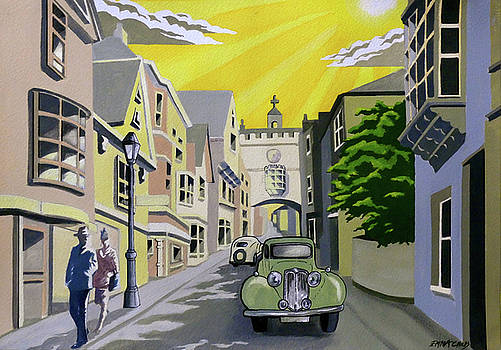 Art Deco Totnes by Emma Childs