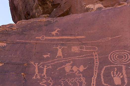 Indian Petroglyphs - Art by Gej Jones