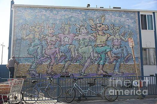 Chuck Kuhn - Art Graffiti Venice