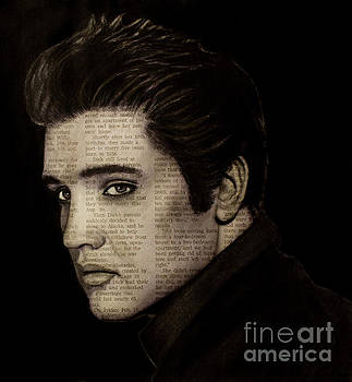 Art in the News 113-Elvis by Michael Cross