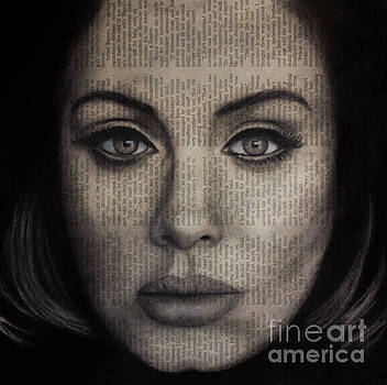 Art in the News 72-Adele 25 by Michael Cross