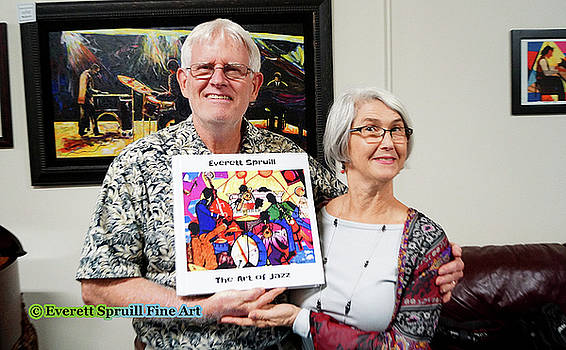 Art Lovers by Everett Spruill