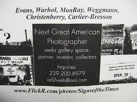Art Magazine Ad by the Signs of the Times Collection
