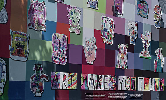 Art Makes You Think by Suzanne Gaff