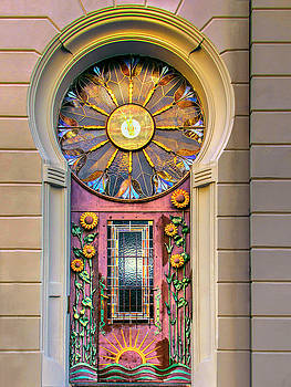 Art Nouveau Doorway by Dominic Piperata