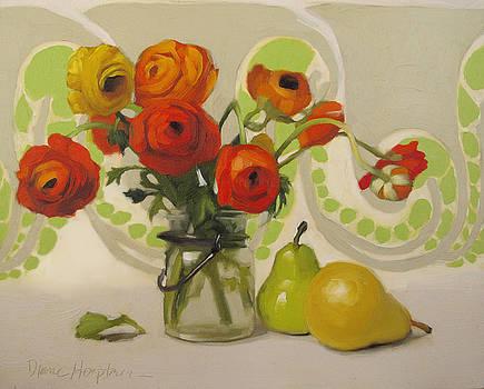 Art Nouveau Floral by Diane Hoeptner