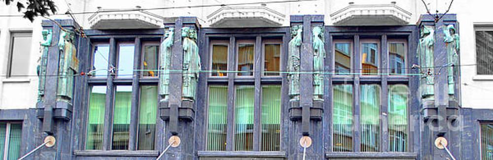 Jost Houk - Art Nouveau of Antwerp